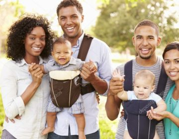 Black American Family 2